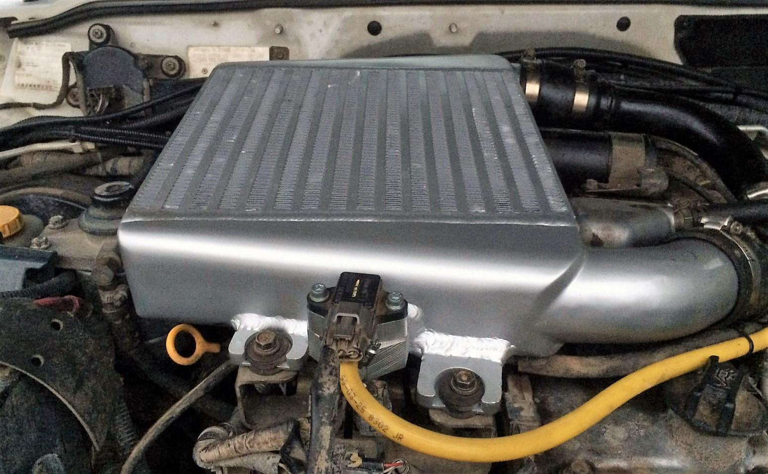 Nissan ZD30 DI Oversize Intercooler